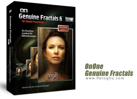 برترین نرم افزار بزرگنمایی تصاویر بدون افت کیفیت OnOne Genuine Fractals 6.0.2 Pro