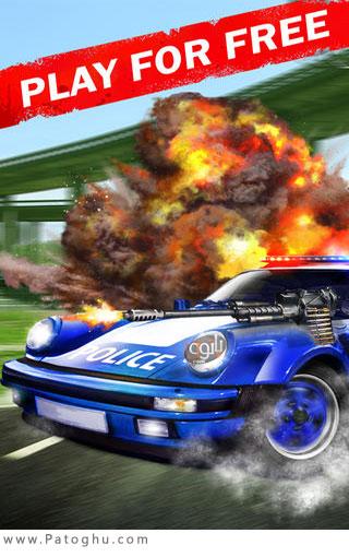 دانلود بازی کم حجم مسابقات ماشین برای کامپیوتر Airborne Racing