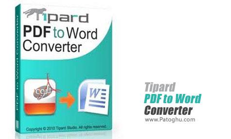 تبدیل PDF به WORD با Tipard PDF to Word Converter 3.2.6.22554