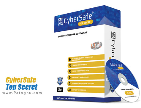 رمزگذاری روی اطلاعات CyberSafe Top Secret 2.2.22 Ultimate Edition