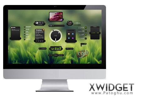 زیباسازی محیط ویندوز با کمک ویجت های کاربردی XWidget 1.9.2