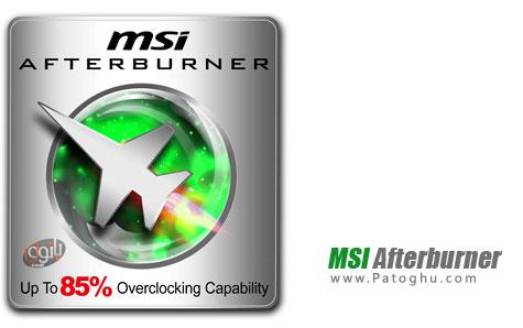 اورکلاک حرفه ای کارت گرافیک MSI Afterburner 4.0.0.4604