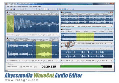 ویرایش آسان فایل های صوتی WaveCut Audio Editor 4.1