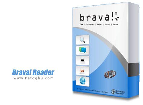 نرم افزار مشاهده و چاپ فرمت های TIFF, PDF, CSF با Brava! Reader 7.2.0.76