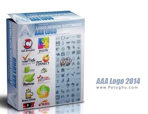 طراحی لوگوهای حرفه ای با نرم افزار AAA Logo 2014 v4.10