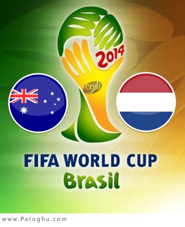 دانلود گل ها و لحظات حساس بازی استرالیا و هلند در جام جهانی برزیل Australia vs Netherlands