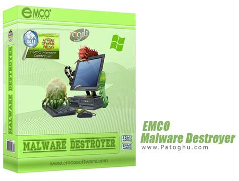 دانلود نرم افزار آنتی تروجان و ضد مخرب ها EMCO Malware Destroyer 7.3.15 Final