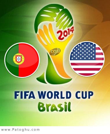 دانلود گلهای بازی پرتغال و آمریکا USA vs Portugal