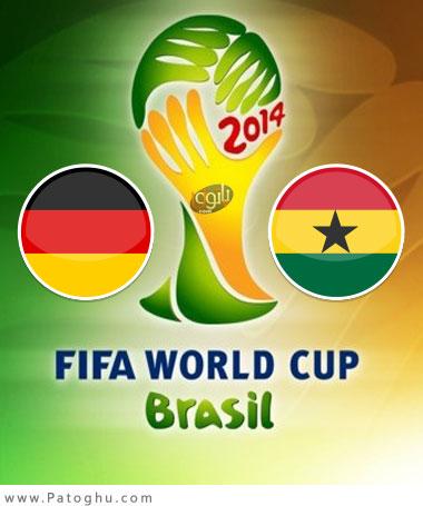 دانلود گلها و لحظات حساس بازی آلمان و غنا در جام جهانی برزیل 2014 Germany vs Ghana