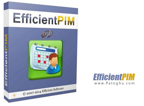مدیریت کارهای روزانه و امور شخصی EfficientPIM Pro 3.70 Build 365