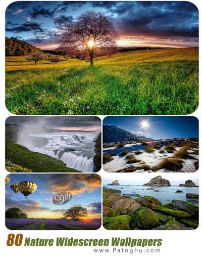 دانلود مجموعه والپیپر عرض با موضوع طبیعت Nature Widescreen Wallpapers