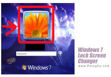 تغییر عکس لاک اسکرین ویندوز 7 با Windows 7 Lock Screen Changer v1.1 Final