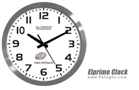 نرم افزار ساعت ، تقویم و زنگ هشدار برای ویندوز Elprime Clock Pro 2.5