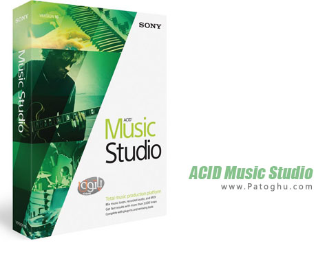 نرم افزار آهنگ سازی ، ویرایش و ضبط موسیقی ACID Music Studio 10.0.108