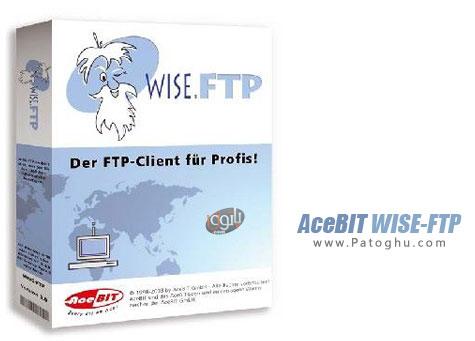 دانلود و آپلود از طریق FTP با AceBIT WISE-FTP 8.0.0
