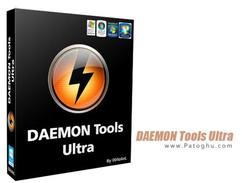 مدیریت و کار روی فایل های ایمیج DAEMON Tools Ultra 2.3.0.0254