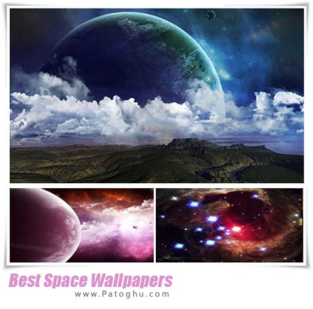 مجموعه والپیپر با کیفیت از فضا Best Space Wallpapers 2014