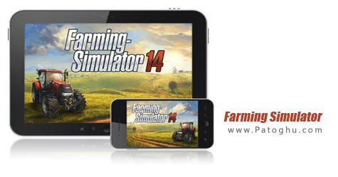 بازی شبیه ساز کشاورزی برای اندروید Farming Simulator 14 v1.1.5