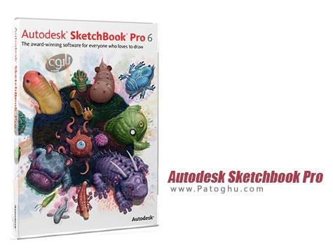 نرم افزار طراحی و نقاشی برای ویندوز Autodesk Sketchbook Pro 6.2.5