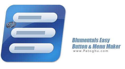 نرم افزار ساخت منو و دکمه های حرفه ای برای سایت Blumentals Easy Button & Menu Maker Pro 4.0.0.26
