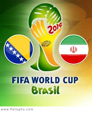 دانلود گلهای بازی بوسنی و ایران Bosnia vs Iran
