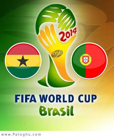 دانلود گلهای بازی پرتغال و غنا جام جهانی برزیل 2014 Portugal vs Ghana