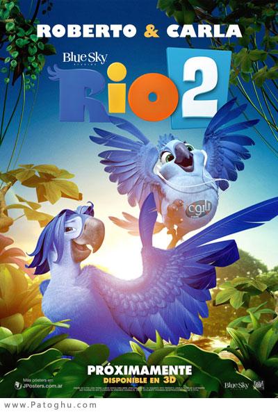 دانلود انیمیشن ریو 2 با زیرنویس فارسی Rio 2