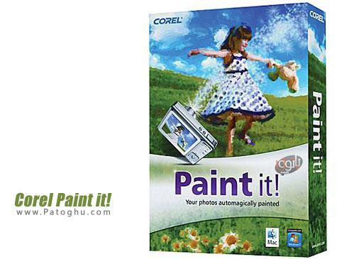 نرم افزار تبدیل عکس به نقاشی Corel Paint it 1.0.0.128