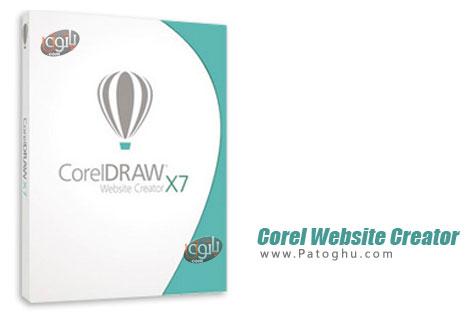 دانلود نرم افزار طراحی وب سایت Corel Website Creator X7 13.50