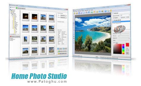 نرم افزار ویرایش آسان تصاویر Home Photo Studio 6.51