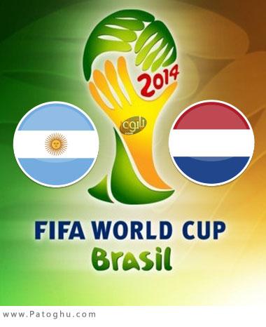 دانلود گلهای بازی هلند و آرژانتین در جام جهانی 2014 برزیل Netherlands vs Argentina