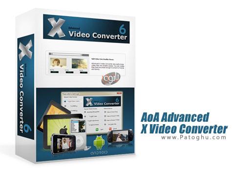 تبدیل ، ویرایش و برش فایل های ویدیویی AoA Advanced X Video Converter v6.2.0