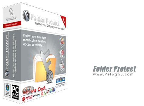 قفل و مخفی کردن فایل و فولدرها Folder Protect 2.0.0 Final