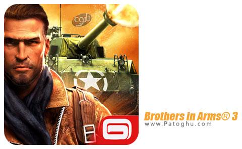 بازی بردارن جنگ 3 برای اندروید Brothers in Arms 3 1.4.1b