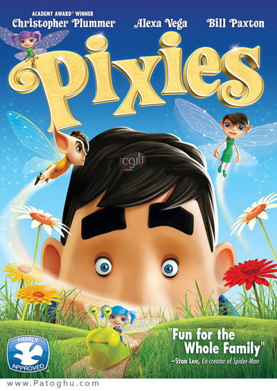 دانلود انیمیشن پیکسس پریزاد Pixies 2015