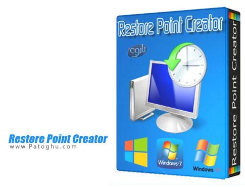 نرم افزار Restore Point Creator