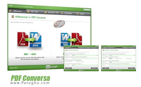 نرم افزار PDF Conversa Professional Edition