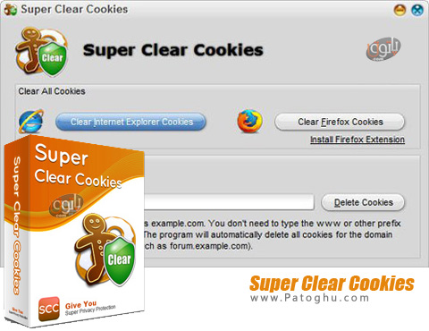 نرم افزار Super Clear Cookies