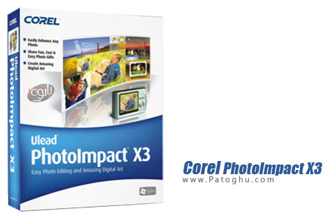 نرم افزار Corel-PhotoImpact-X3