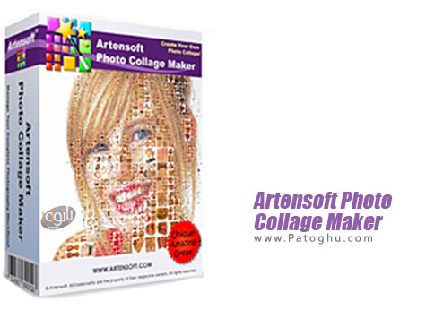 برنامه Artensoft Photo Collage Maker