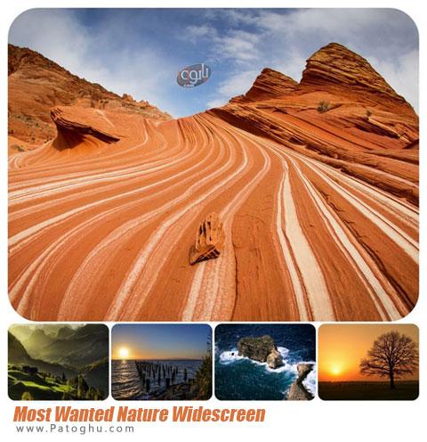 مجموعه پس زمینه با کیفیت فوق العاده از مناظر و طبیعت برای دسکتاپ Nature Widescreen Wallpapers