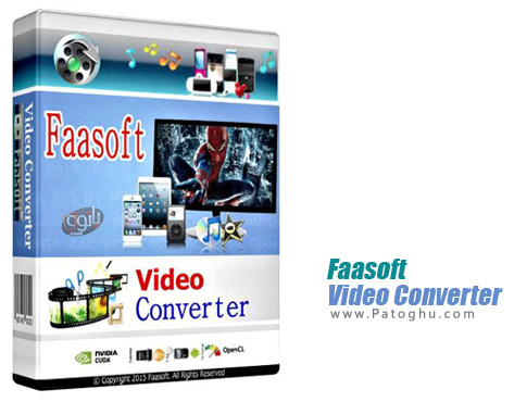 برنامه Faasoft Video Converter