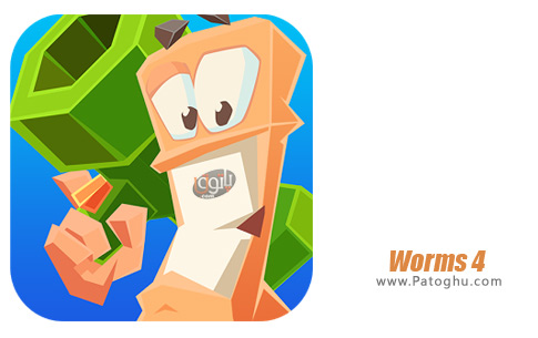بازی ورمز 4 جنگ کرم ها برای اندروید Worms 4 v1.0.432182