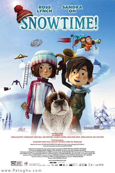 دانلود انیمیشن کمدی وقت برف Snowtime 2015