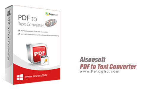 نرم افزار Aiseesoft PDF to Text Converter