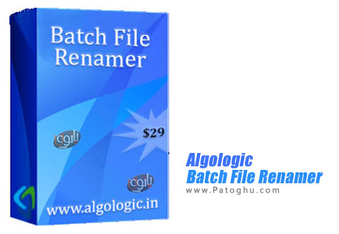 نرم افزار Batch File Renamer