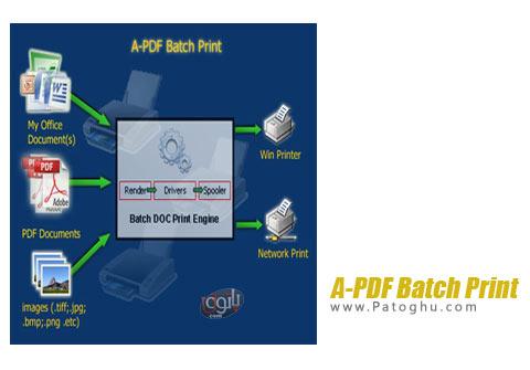 نرم افزار A-PDF Batch Print