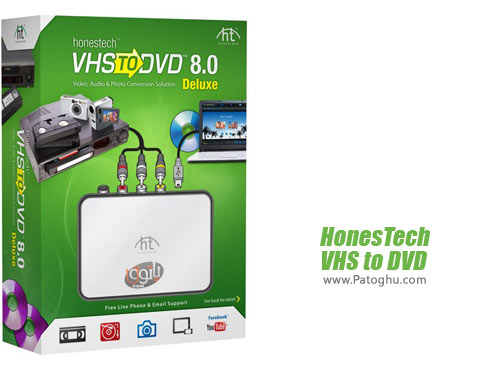 نرم افزار HonesTech VHS to DVD