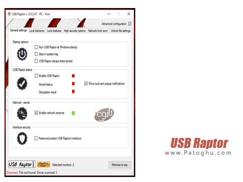 نرم افزار USB Raptor