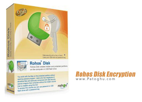 نرم افزار Rohos Disk Encryption